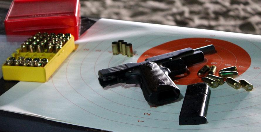 Allenamento-Poligono-Pistola