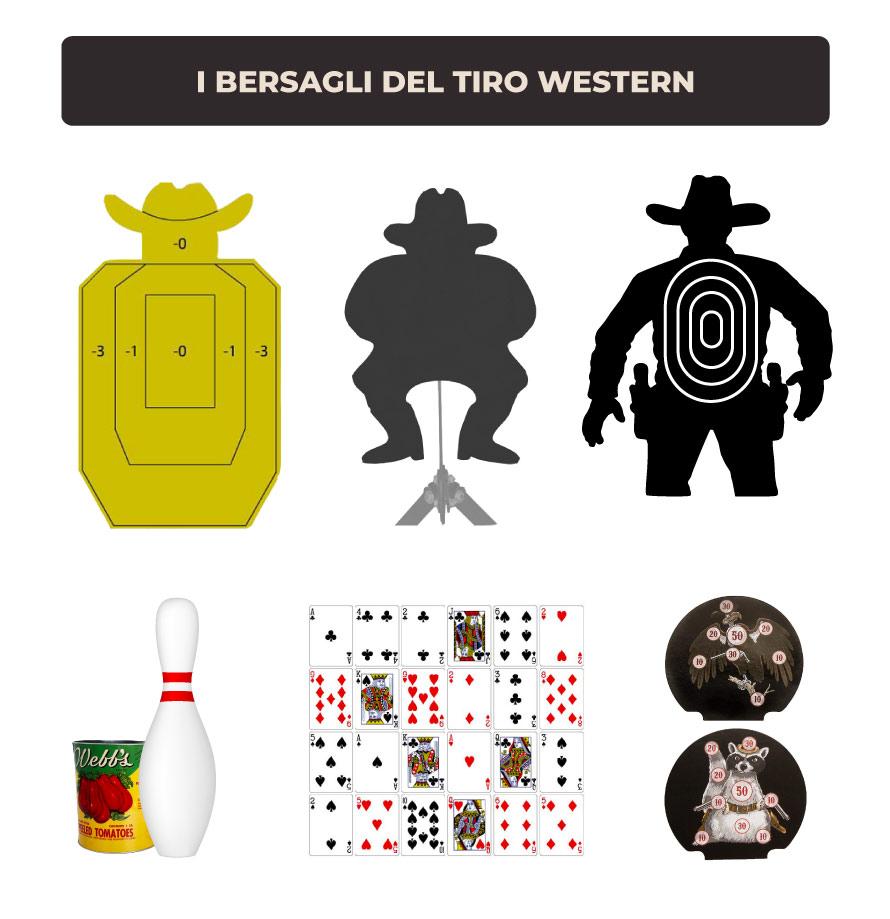 Bersagli-Tiro-Western
