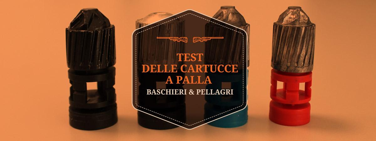 Test delle cartucce a palla Baschieri & Pellagri