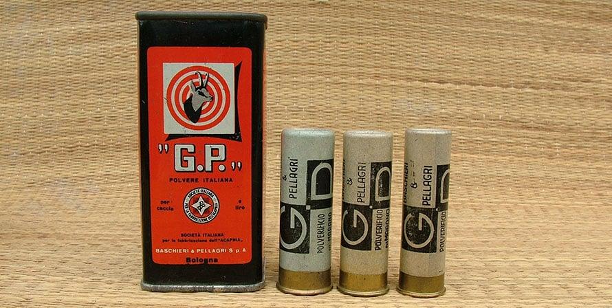 scatola polvere gp