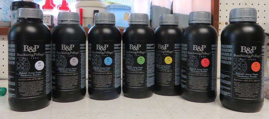 Le nuove polveri B&P per canna rigata: analisi della serie BP 100/109